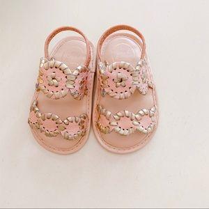 My First Jacks - Lauren Blush Gold Slide Sandal
